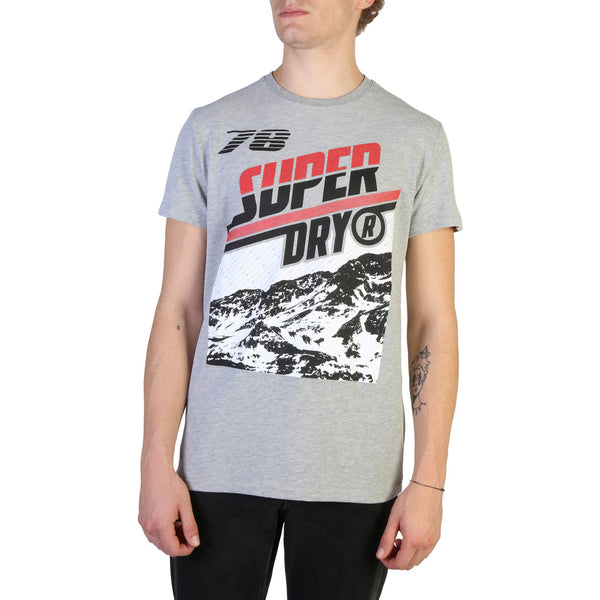 Tee shirt gris homme Superdry - M1000005A