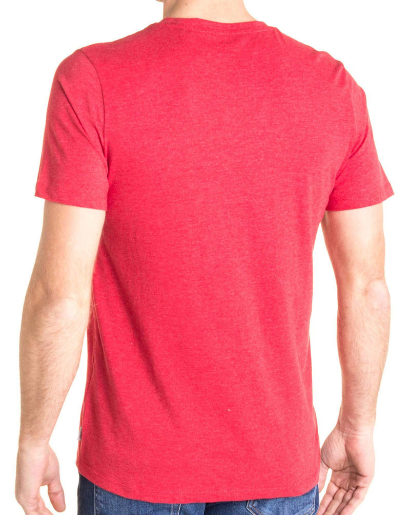 Tee shirt coloré rouge XMAS avec impression