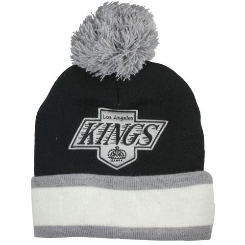 Logo and Stripes Kings Beanie
