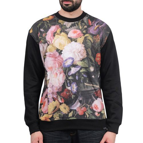 Still Life Fleece Crew Sweater