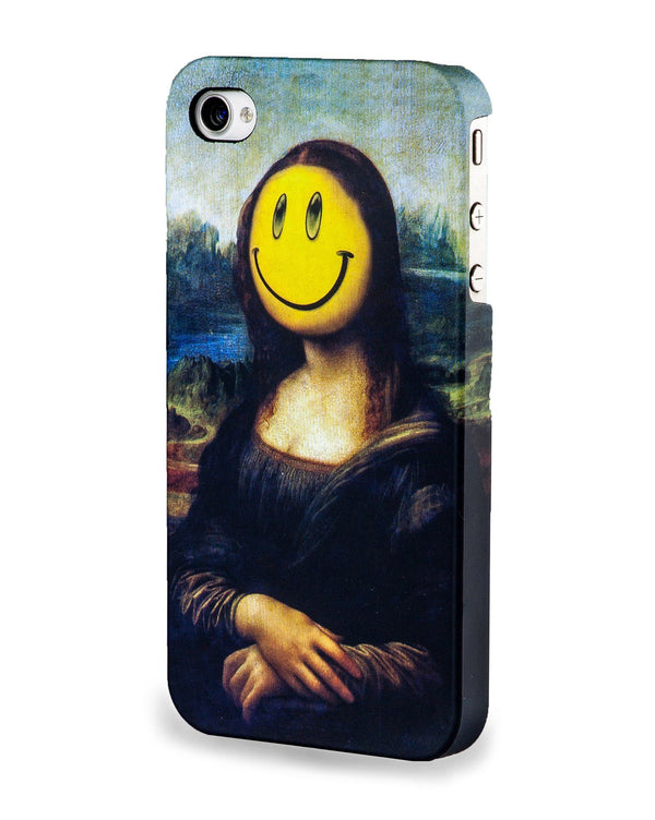 Coque Iphone 4/4S Et 5/5S Smiley Joconde