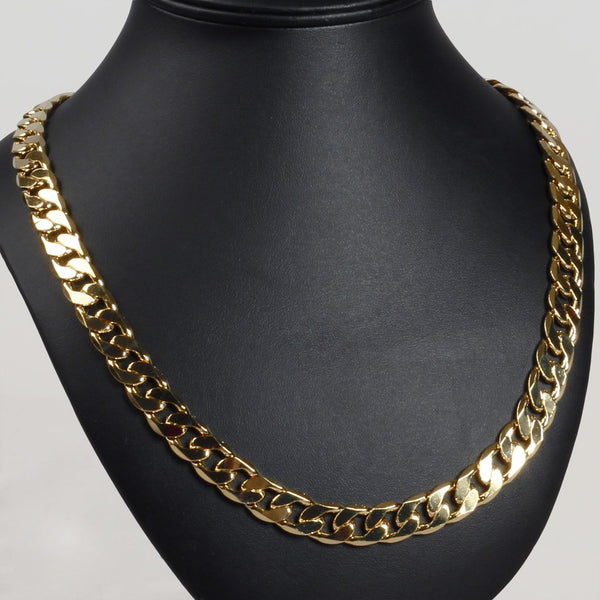 12MM Cuban Gold Plated Chain