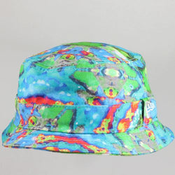Smudged New Era Bucket Hat
