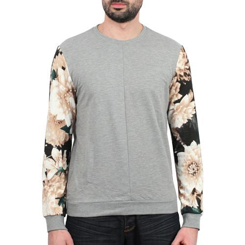 Flowers Sleeves Sweater