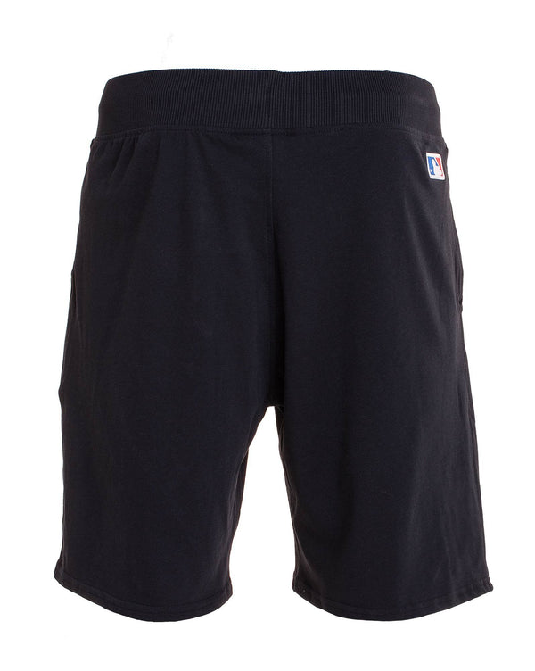 Short bleu navy en molleton