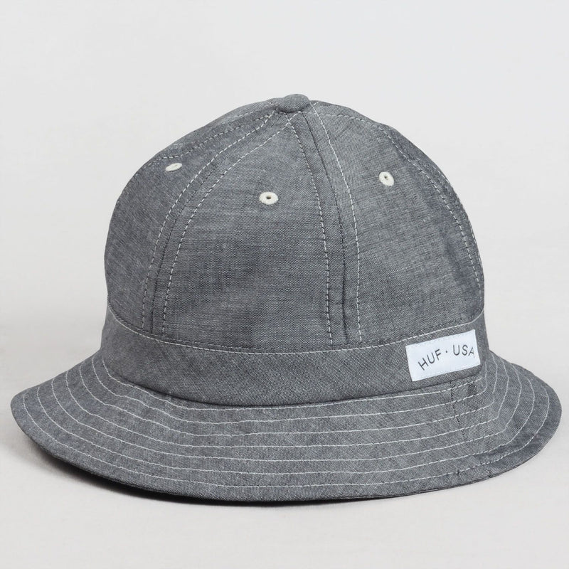 Chambray Bell Bucket Hat