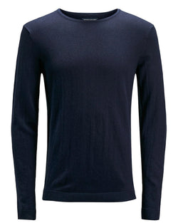 Pullover cachemire bleu navy homme