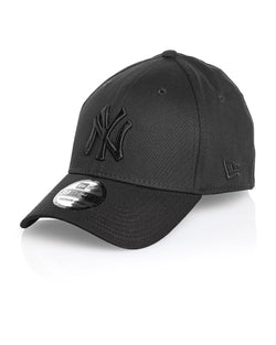 Casquette homme baseball noire Yankees courbee