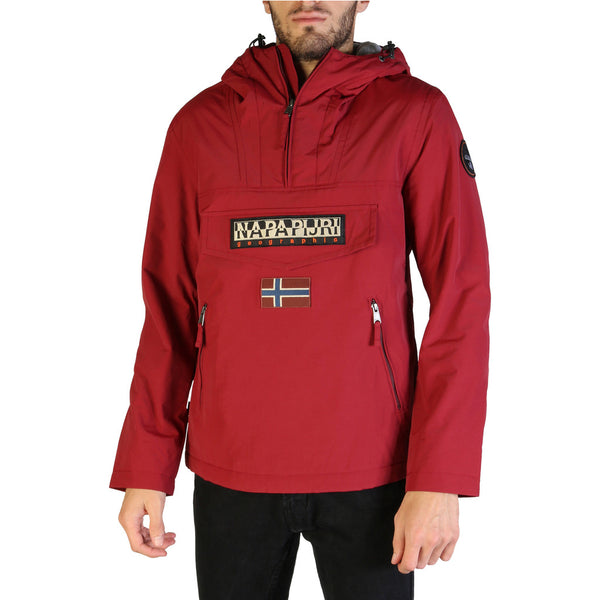 Veste coupe vent rouge Napapijri - RAINFOREST_N0YGNL