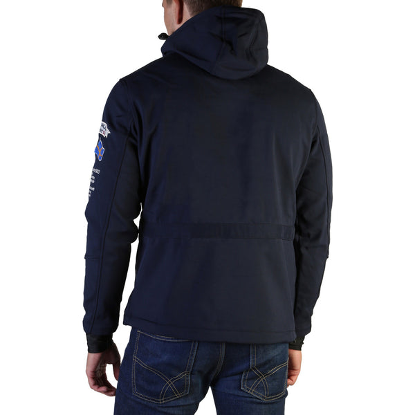 Veste bleu mariné softshell homme Geographical Norway - Terreaux_man