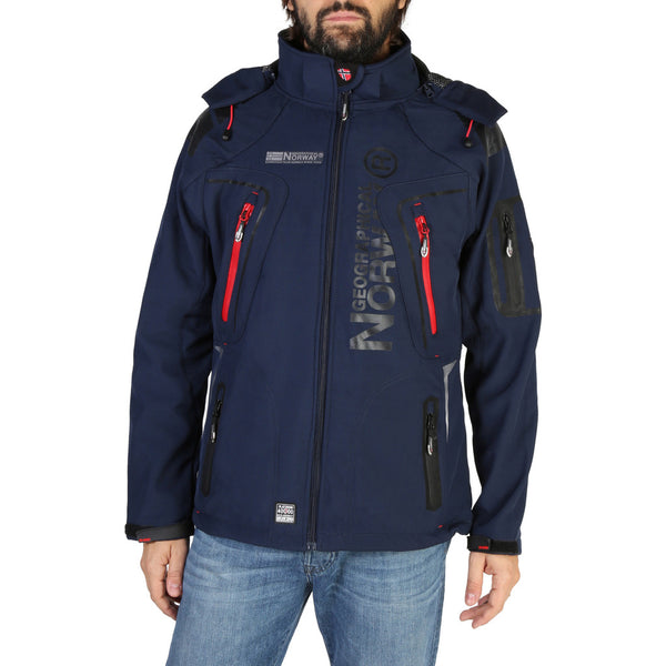 Veste softshell bleu marine Geographical Norway - Turbo_man