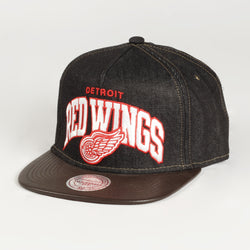 Dark Denim Red Wings Cap