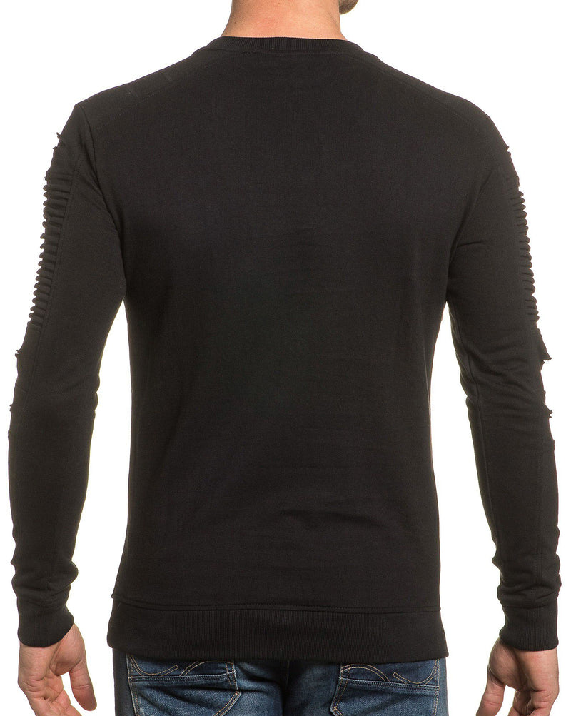 Sweat shirt uni noir