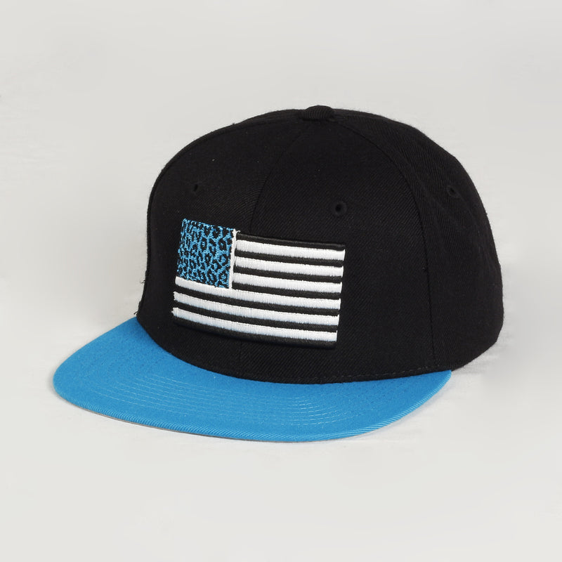 Cheetah Flag Cap