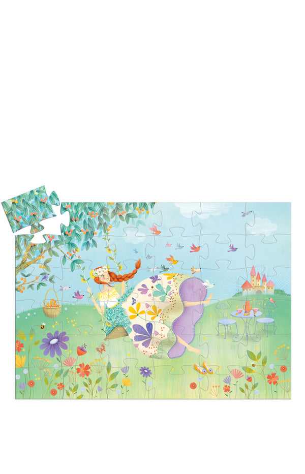 Silhouette Puzzles - The Princess of Spring