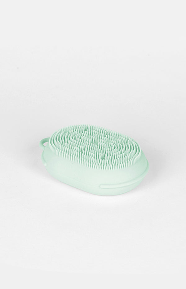 Silicone Body Sponge - Green