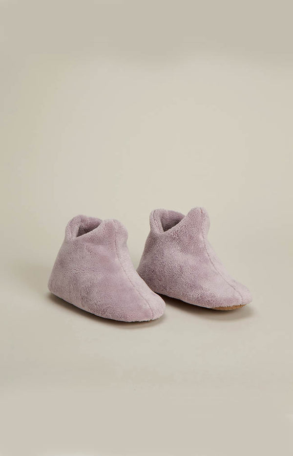 Basic Boot Slipper - Lavender