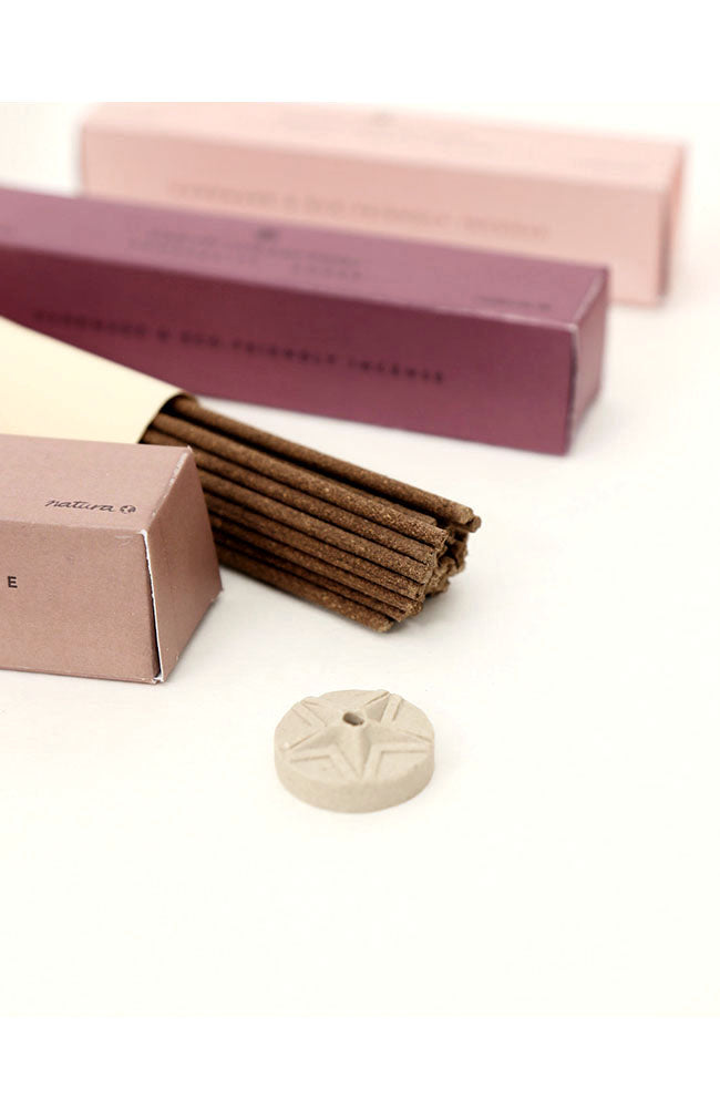 Pink Earth Coreless Incense Set