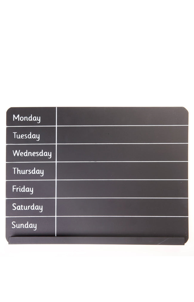 Weekly Planner Chalk Board