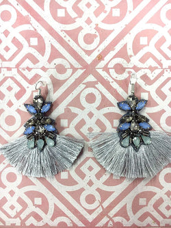 Grenada Earrings - Blue