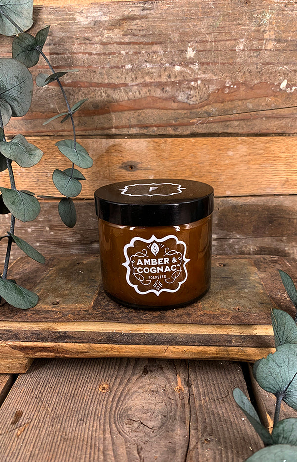 Amber & Cognac Soy Wax Candle
