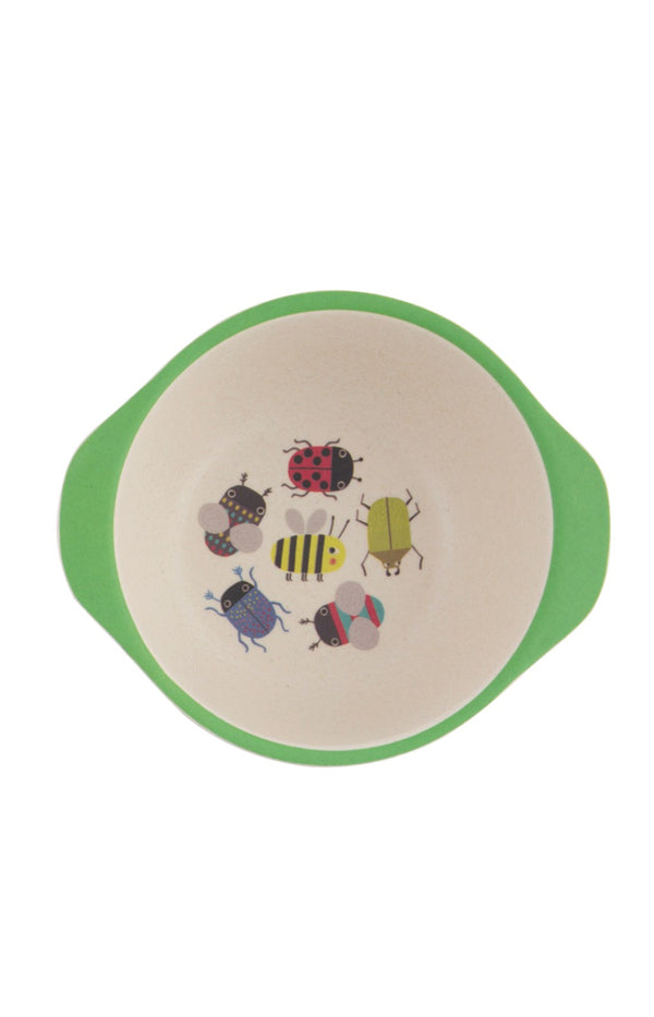 Busy Bugs Bamboo Kids Bowl