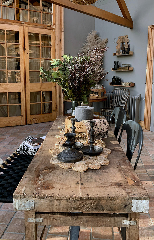 Grimaud Antique Wood Table