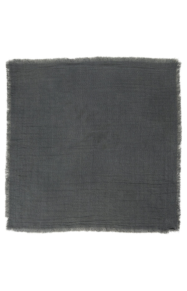 Napkin - Double Weave - Dark Grey