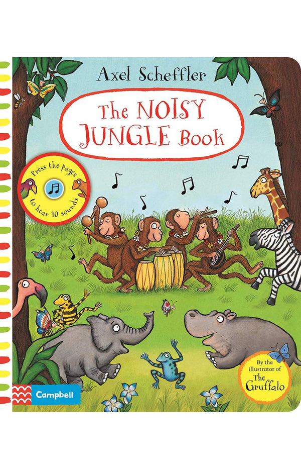 The Noisy Jungle Book