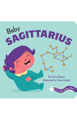 A Little Zodiac Book: Baby Sagittarius