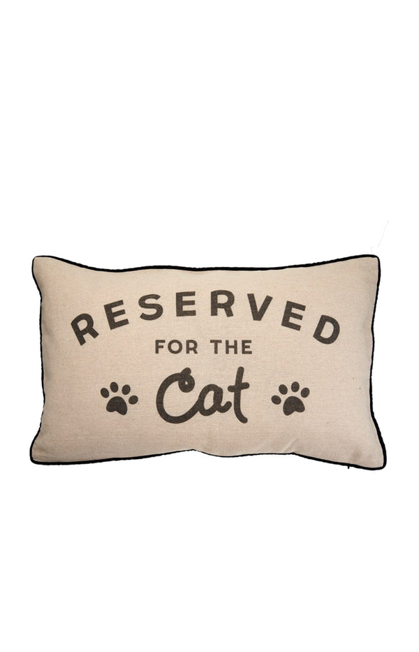 Cushion RESERVED FOR CAT