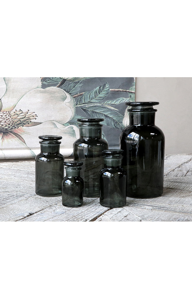 French Apothecary Bottles - S/5