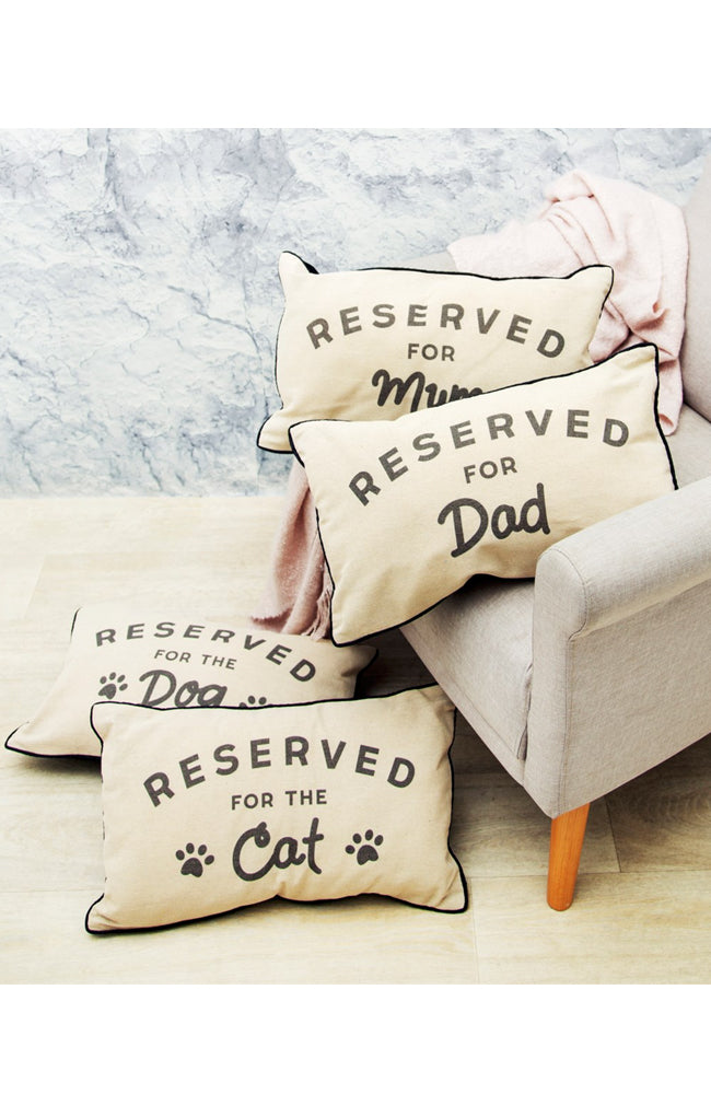 Cushion - Reserved for Dad
