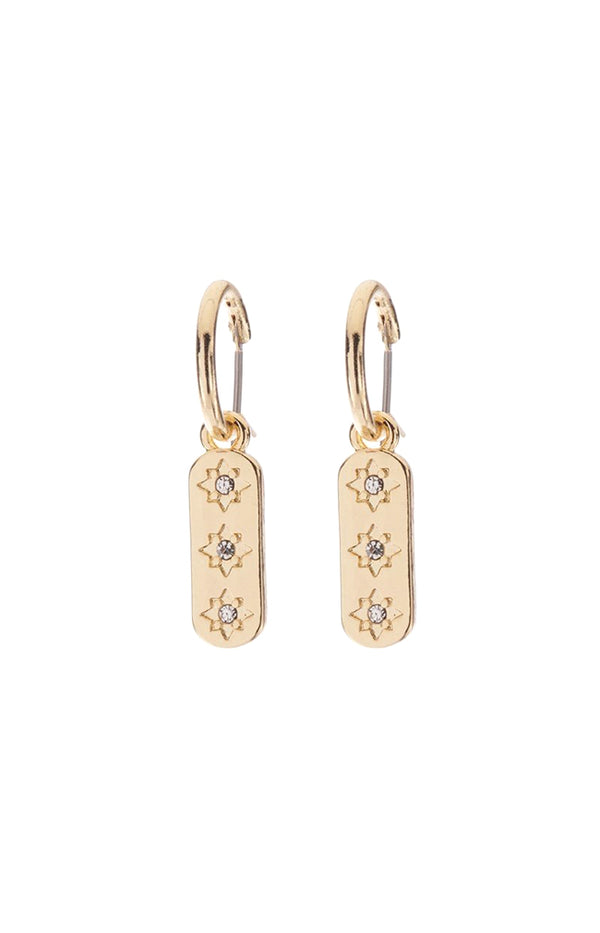 Trish Earrings - Gold Plated