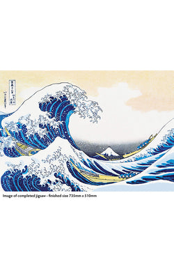 Hokusai: The Great Wave - 1000pc Jigsaw