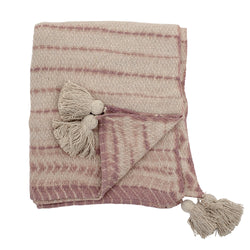 Throw - Recycled Cotton - Rose