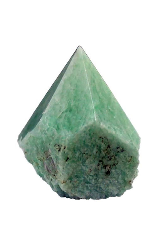 Amazonite Faceted - Rough Point