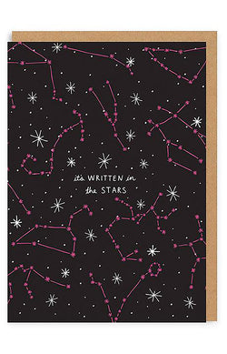 It's Written In The Stars Greeting Card