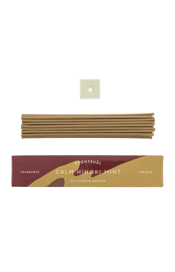 Scentsual Incense - Calm Hinoki Mint