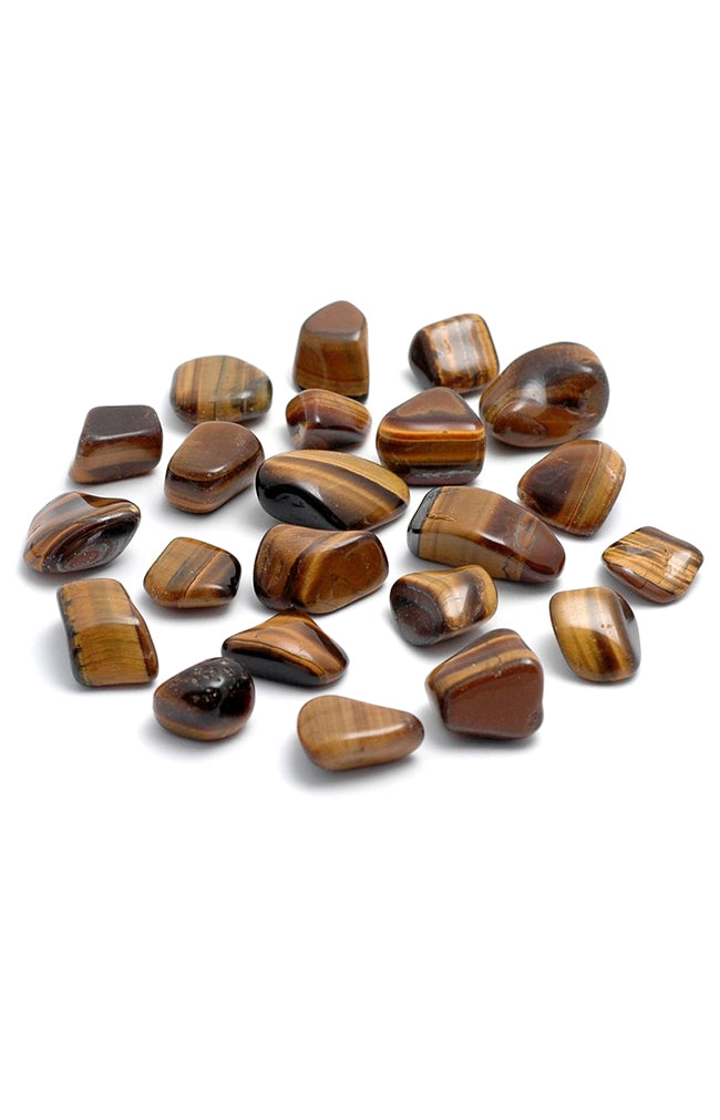 Golden Tiger's Eye Tumblestone