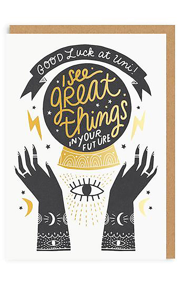 Great Things In Your Future Greeting Card