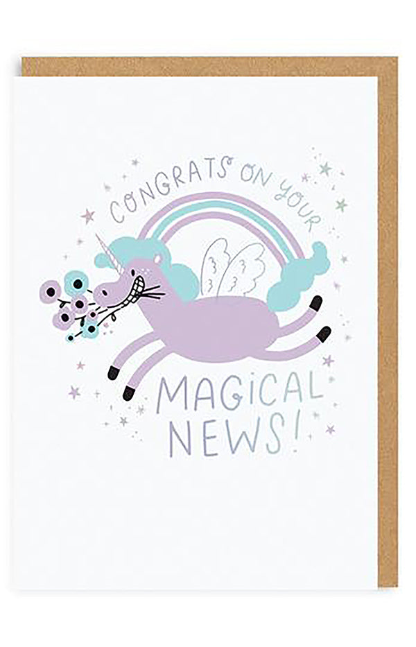 Magical News Greeting Card