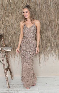 Valerie Gown - Antique Gold
