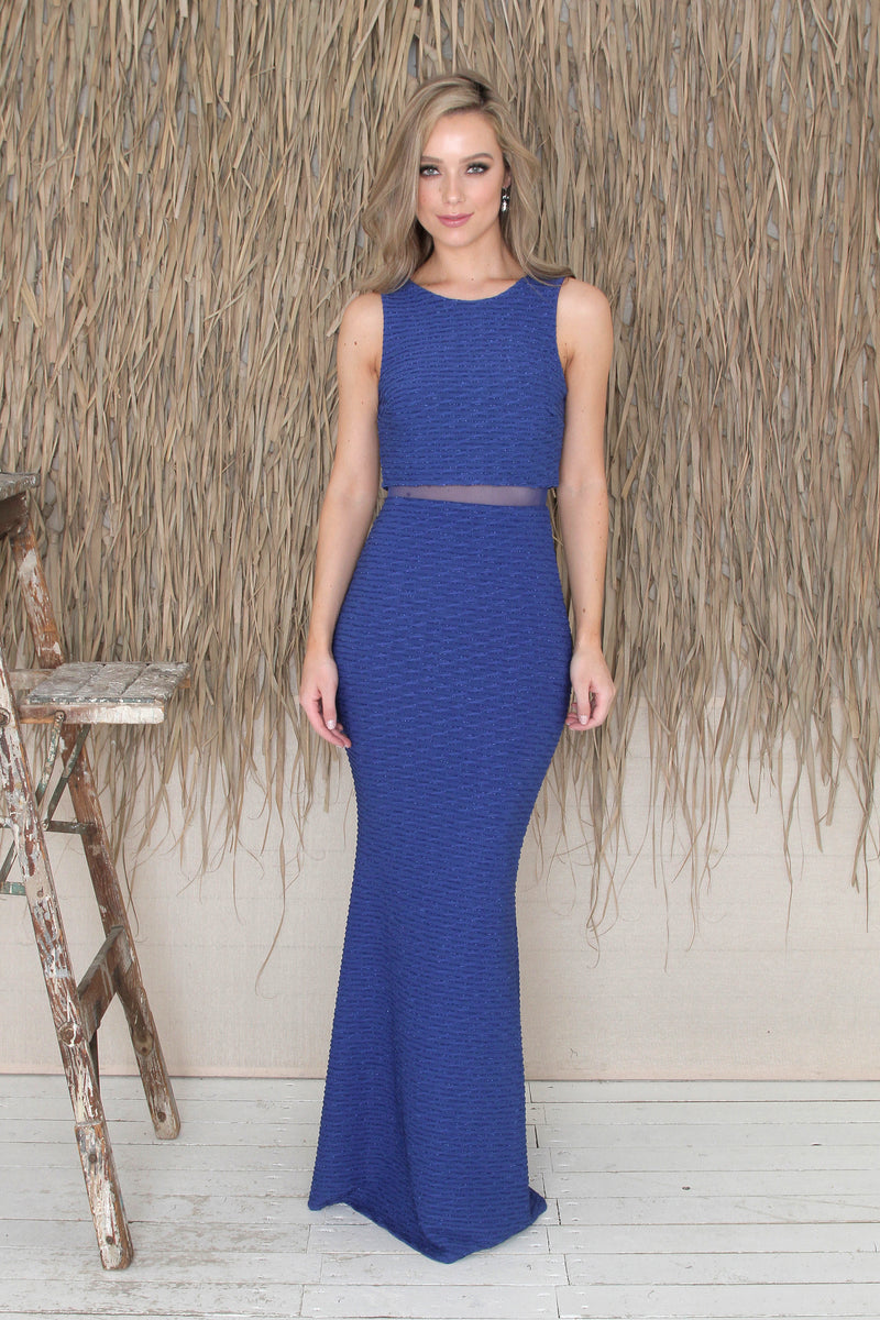 Macy Gown - Royal Blue