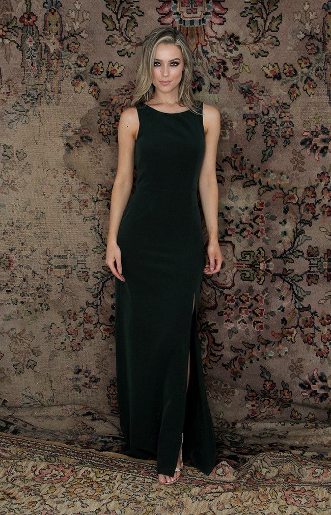 Selena Gown - Forest Green