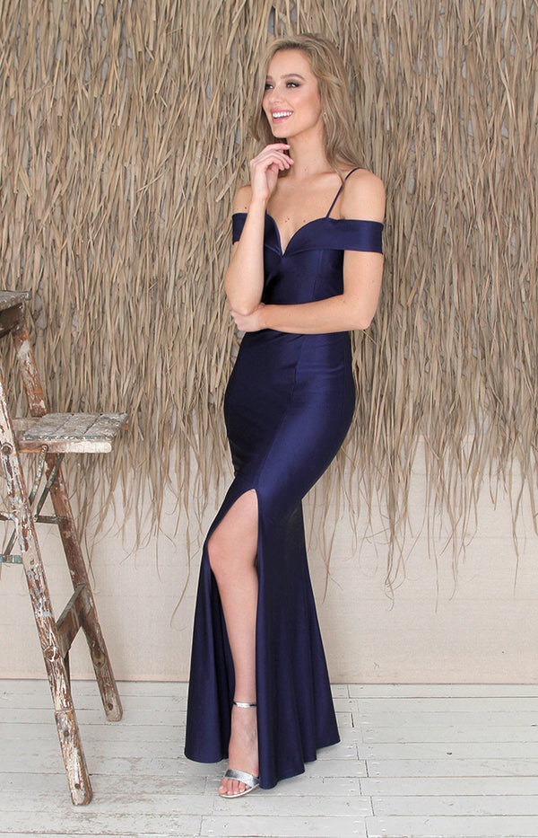 Misha Gown - Blue
