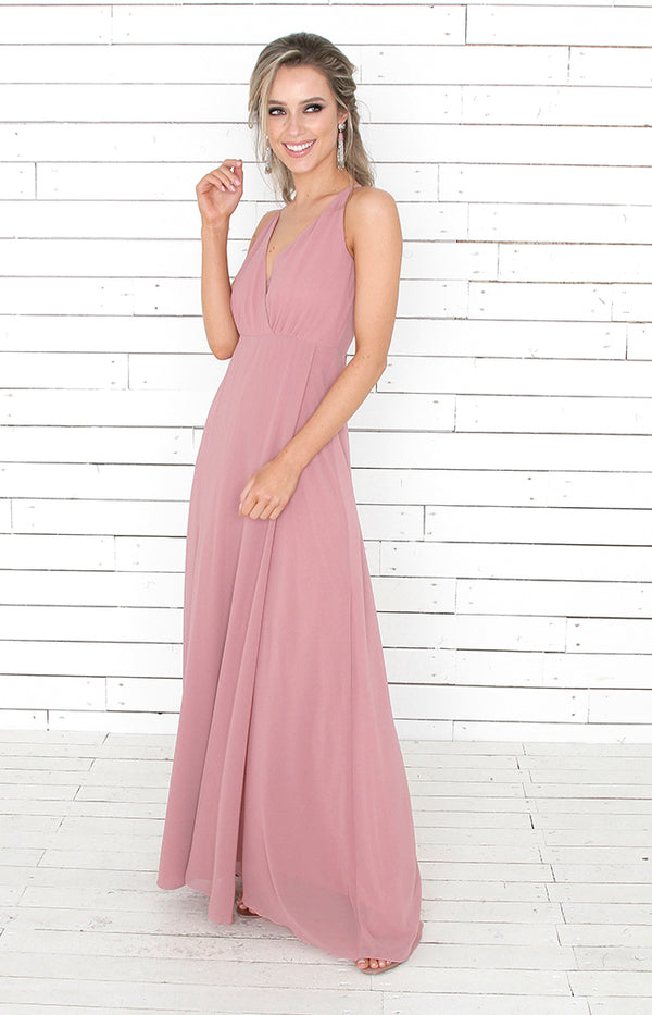 Alicia Gown  - Mauve