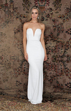 Uma Gown - White – Folkster