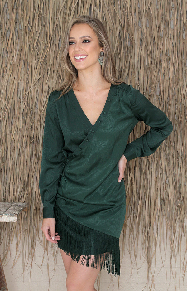 Vianna Dress - Green