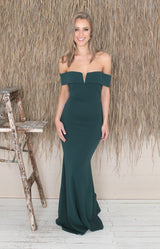 Amelie Gown - Hunter Green